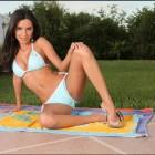 {mindyvega} Mindy Vega Naked Sunbathing