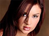 Amy Reid Pink Lace Lingerie