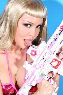 Masuimi Max Machine Gun Toting Hottie