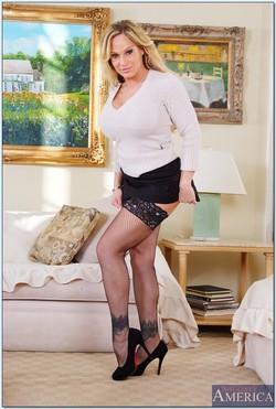 Tyler Faith Hot Mom Seduces in the Parlor