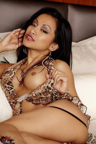CJ Miles Sexy Dream Girl Seduces in Leopard Lingerie