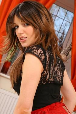 Ashlea Massey Sexy Secretary Undresses After Work