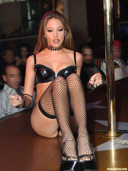 """porn star at strip club Oct 2015  """"There's nothing more rock n' roll then spending the night at a Hollywood strip  club partying and getting wild with a bunch of sexy porn stars,."""