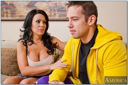 Sienna West Latina MILF Scores with Son's Rival