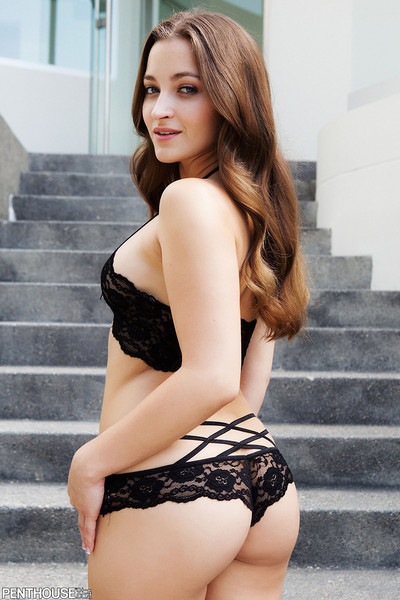 Dani Daniels Penthouse Pet for January 2012