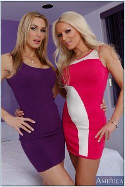 Diana Doll and Tanya Tate in Hardcore MILF Threeway