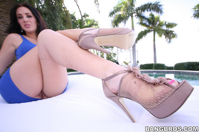 Jayden Jaymes Talks About and Works her Magical Feet in Hardcore Clip