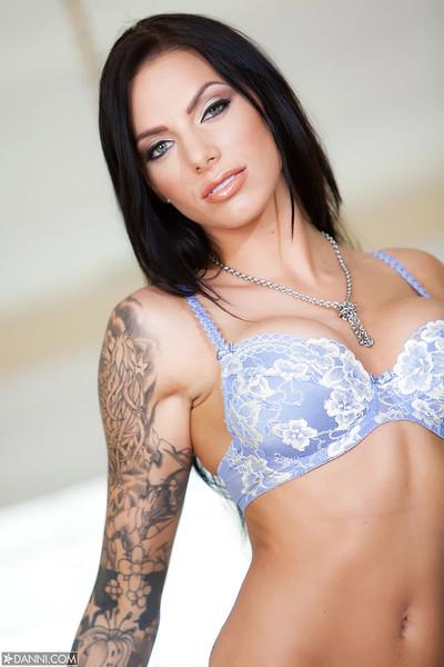 Juelz Ventura Busty Brazilian Pornstar Bares Boobs and Tattoos