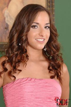 Amirah Adara Hungarian Hottie Loses Pink Dress