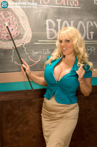 Harmony Bliss Big Boob Biology Teacher Gives Explicit Lesson