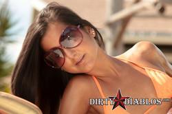 Cassidy Morgan Reveals Bronze Bikini Body from Orange Bikini