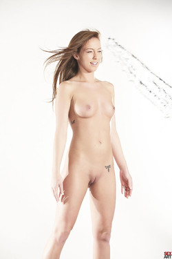 Maddy O'Reilly Natural Brunette Splashed before Hardcore Sex