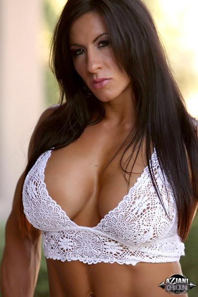 Angela Salvagno Bodybuilding Bombshell Rocks Big Boobs