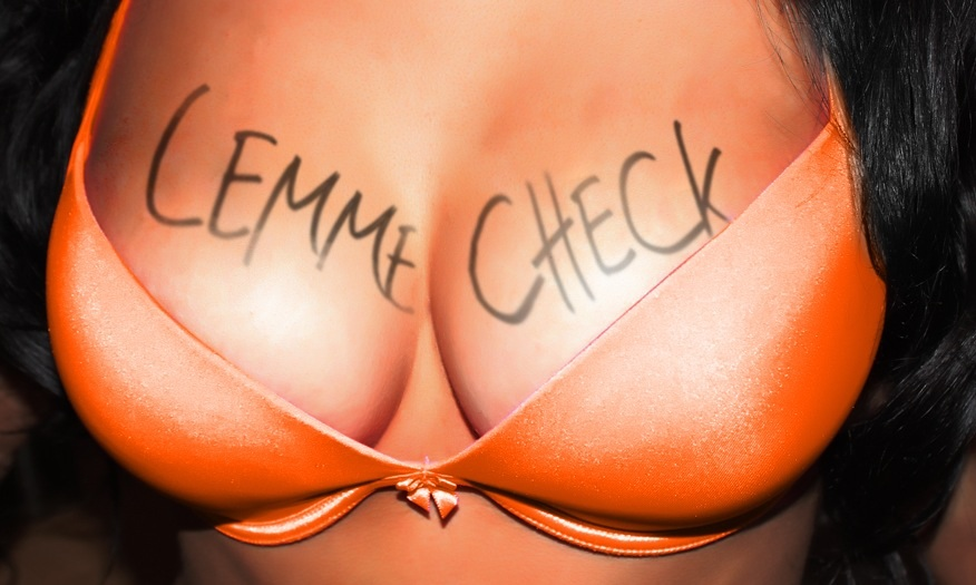 Big Boobs LemmeCheck Fansign Model