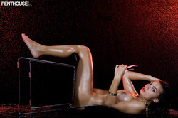 Krista Ayne Makes Big Splash Naked with Hose