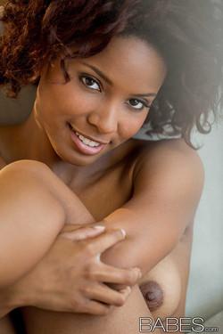 Spencer Bliss Bares Heavenly Ebony Body