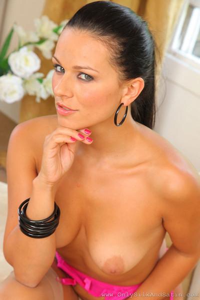 Katya Nova Smokin' Brunette Sizzles in Hot Pink