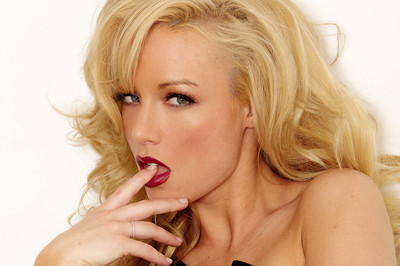 Kayden Kross Sexy in a Black Dress
