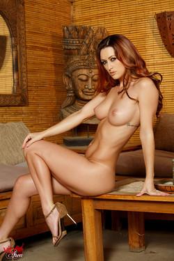 Karlie Montana Fiery Redhead Bares Tight Bikini Bod