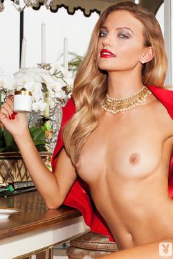 Amanda Booth Hot Blonde Takes Erotic Coffee Break