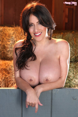 Antonella Kahllo Huge Boobed Latina in the Hay Barn