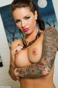 Christy Mack Stellar Pornstar with Bad-Ass Ink and Big Boobs