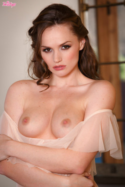 Tori Black Sultry and Sexy in Flowing Lingerie