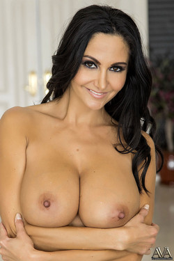 Ava Addams Shows Off Big Boobs and Round Booty