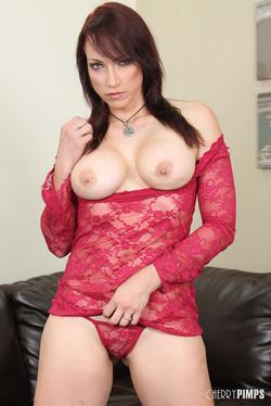 curvy brunette lingerie gangbang