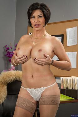 Shay Fox Big Boob Executive Office Striptease