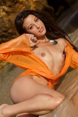 Lorena Garcia Alluring Spanish Beauty Bares Perky Breasts