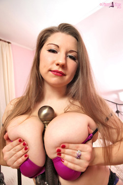 Samanta Lily Debuts Eye-Popping J-Cup Breasts