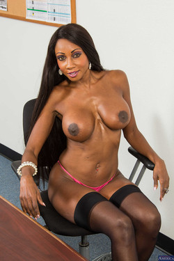 Diamond Jackson Stacked and Packed Ebony Office Girl