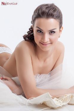Eugenia Usanova Sexy Russian Bride Loses Wedding Dress
