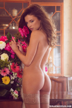 Brittany Brousseau May Playmate is One Sexy Flower Child