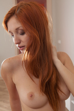Michelle Starr Busty Ukranian Redhead Hot and Naked