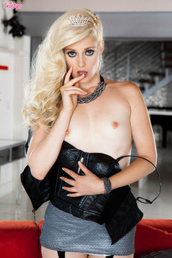 Charlotte Stokely Naughty Princess Reveals Tight Perky Breasts