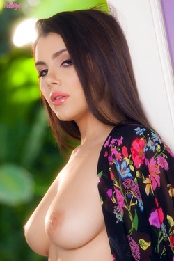 Valentina Nappi Italian Vixen Lingerie Striptease