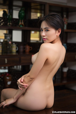 Wu Muxi Beijing Beauty Slips Off White Slip