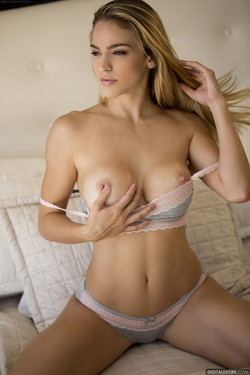 Ryan Ryans Pops Out Firm Round Breasts and Hard Nipples
