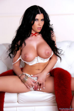 Rebeca Linares Horny in Ribbons