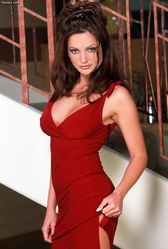 Sandra Shine Red Dress Playtime