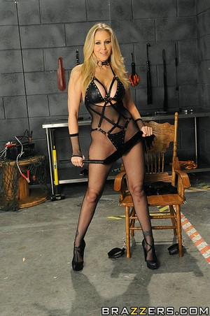 MILF Julia Ann is a Dungeon Dominatrix
