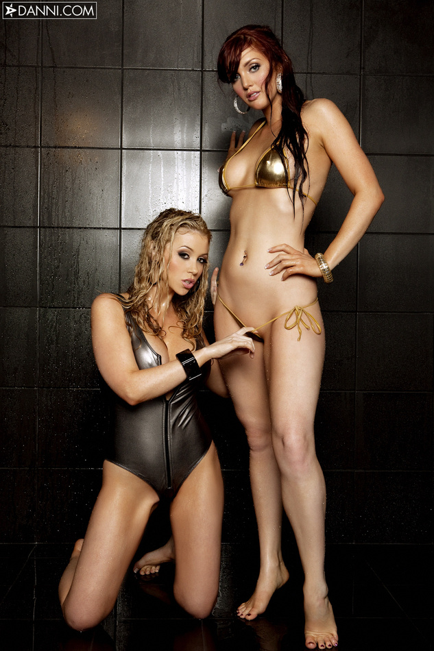 Veronica Ricci Showers With Alisha King
