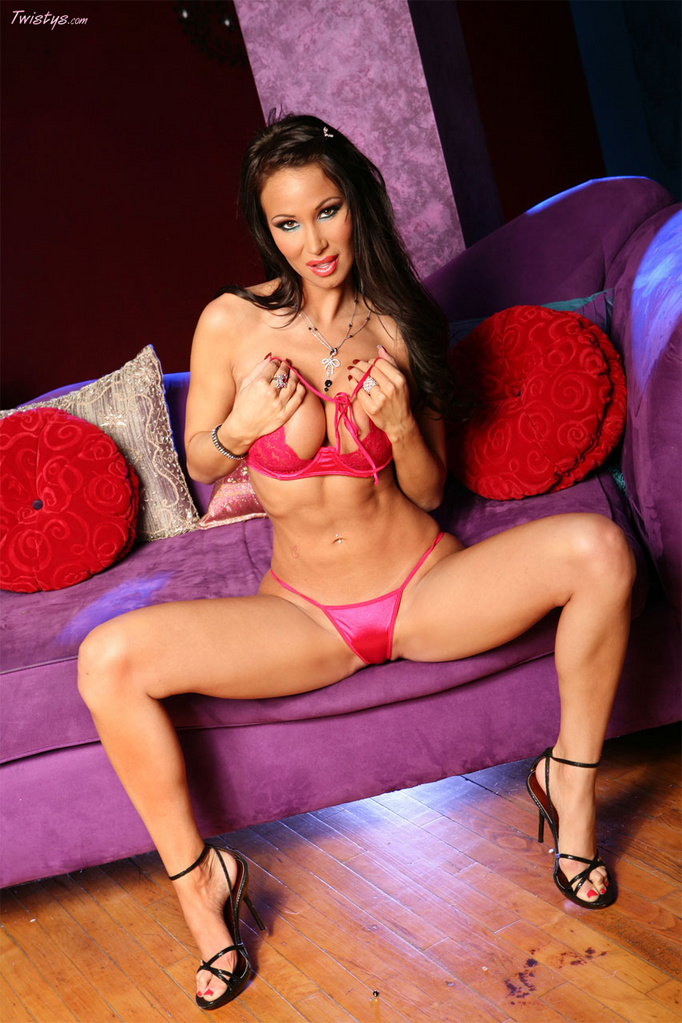 Sandee Westgate Hard Body in Pink