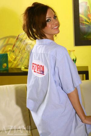 Addison Rose Unleashed at Aziani