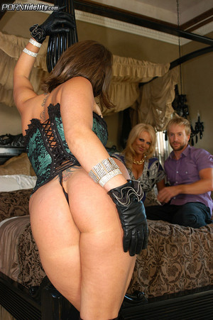 Tory Lane Shows Off Lingerie to Kelly Madison