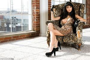 Roxanna Milan Feisty in Leopard Print