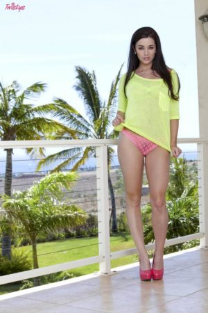 Taylor Vixen Shows Nipples Through Lace