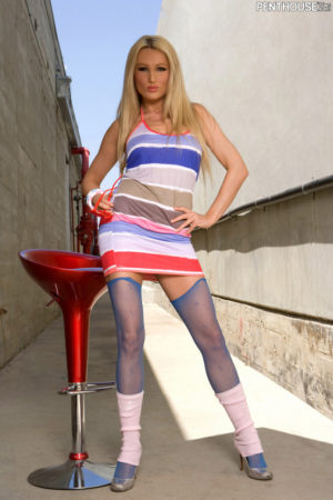 Diana Doll Naughty in Stockings and Leg Warmers